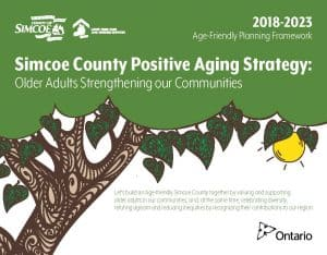 Simcoe County Positive Aging Strategy Cover